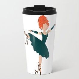 Celtic Ballerina Princess Travel Mug