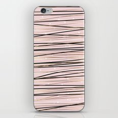 Lines and points iPhone & iPod Skin