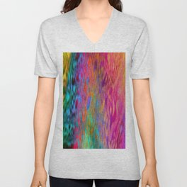Color Cloud Unisex V-Neck