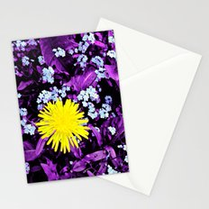 Yellow Rules Stationery Cards