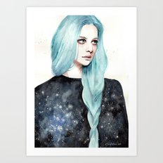 Part of the universe Art Print