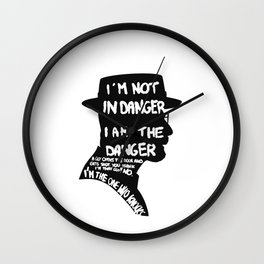 Heisenberg is the danger Wall Clock