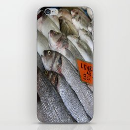Freshwater Perch for Sale iPhone Skin