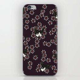 Gardener Tuxedo Cat iPhone Skin
