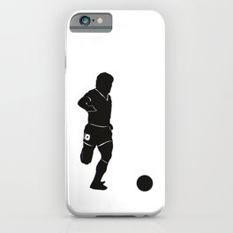 Jugada del 10 Diego iPhone Case