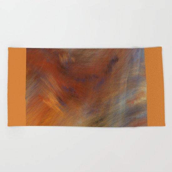 Storm in Space  (A7 B0230) Beach Towel