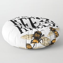 I think you're the bees knees! Floor Pillow