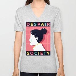 Despair Society Unisex V-Neck