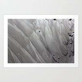 Silver Sands Art Print