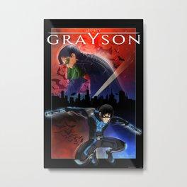 Legacy of Grayson Metal Print