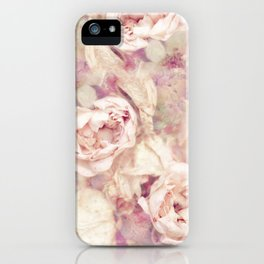 FADED ROSES iPhone Case