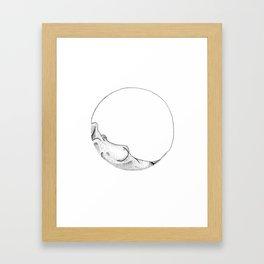 Her shape Framed Art Print
