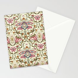Orchid Art Nouveau Stationery Cards