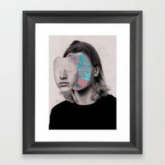 Ocean love Framed Art Print