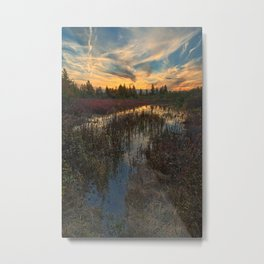 Autumn Dolly Sods Sunset Metal Print