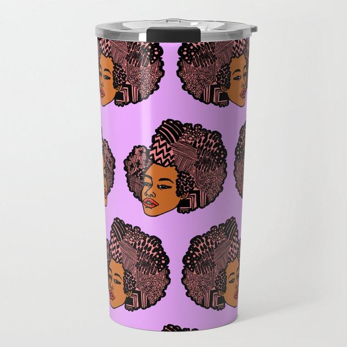 Tomi Repeat Pattern Travel Mug