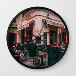 Spanish cafe Wall Clock