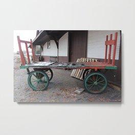 ghost baggage Metal Print