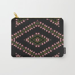 Pomegranate Kaleidoscope Photographic Pattern #1 Carry-All Pouch