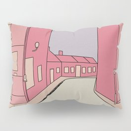Pink Streets Pillow Sham