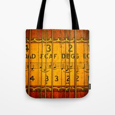 Chords, Notes, & Strings Tote Bag