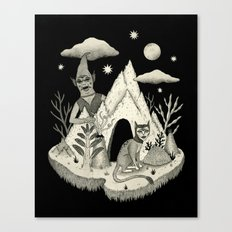 Not Alone Canvas Print