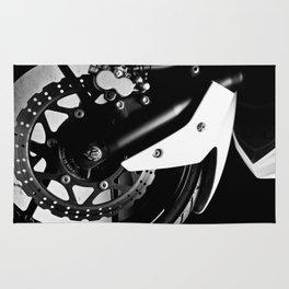 Kawasaki Ninja Motorcycle Wall Art III Rug