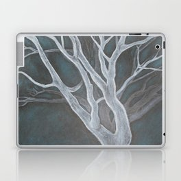 White Tree Laptop & iPad Skin