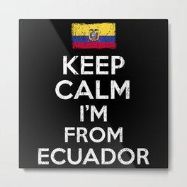 Im Frome Ecuador Metal Print