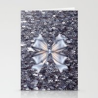 silver Stationery Cards featuring Silver by Elena Indolfi