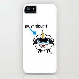 ewe-nicorn. iPhone Case