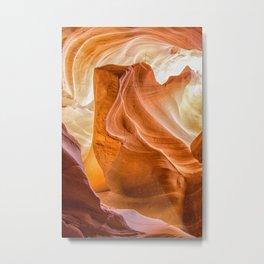 Navajo Lines Metal Print