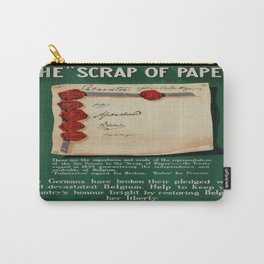 Vintage poster - The Scrap of Paper Carry-All Pouch
