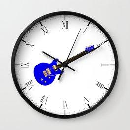 Double Cutaway Wall Clock