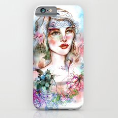 Floral  Slim Case iPhone 6s