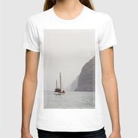 sailboat T-shirts featuring Sailboat by Leonor Saavedra