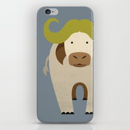 Whimsy Cape Buffalo iPhone Skin