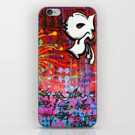 """SUCH IS THE RECIPE FOR LIFE"" iPhone Skin"