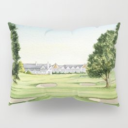 Southern Hills Golf Course 18th Hole Pillow Sham