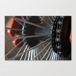 Little Wheels Canvas Print