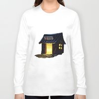 animal crossing Long Sleeve T-shirts featuring Animal Crossing: Nooks Cranny by Makar Deku