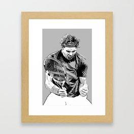 Rafa is Pumped Framed Art Print