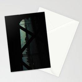 dark bridge nyc Stationery Cards