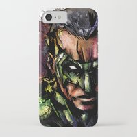 green lantern iPhone & iPod Cases featuring Green Lantern by Vincent Vernacatola