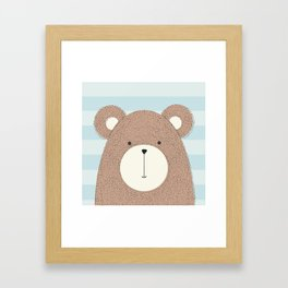 Beary cute, sweet collection Framed Art Print