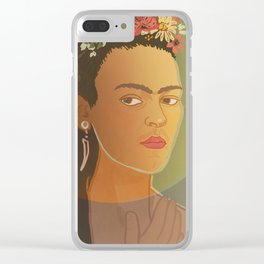 Dear Frida / Stay Wild Collection Clear iPhone Case