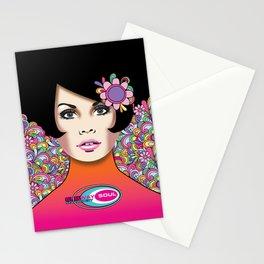 """NYE 2014"" Subway Soul by Dawn Carrington Stationery Cards"