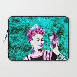 Frida Kahlo ang Crystalls Laptop Sleeve