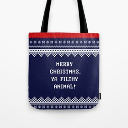 Home Alone – Merry Christmas, Ya Filthy Animal! Tote Bag