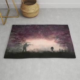 Shotter and Zombie Girl Rug